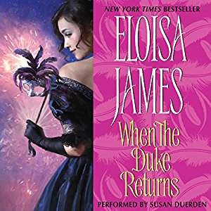 When the Duke Returns By Eloisa James AudioBook Free Download