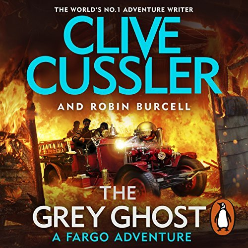The Grey Ghost By Clive Cussler, Robin Burcell