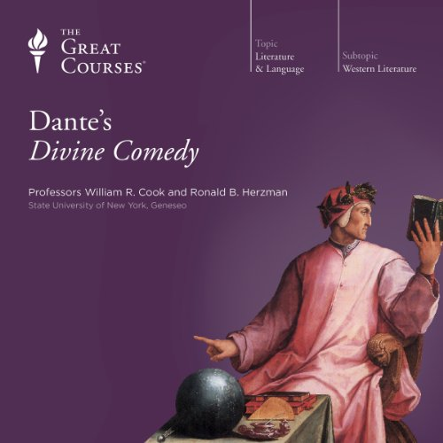 Dante's Divine Comedy By The Great Courses, Ronald B. Herzman, William R. Cook