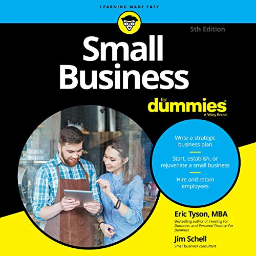 Small Business for Dummies By Eric Tyson MBA, Jim Schell