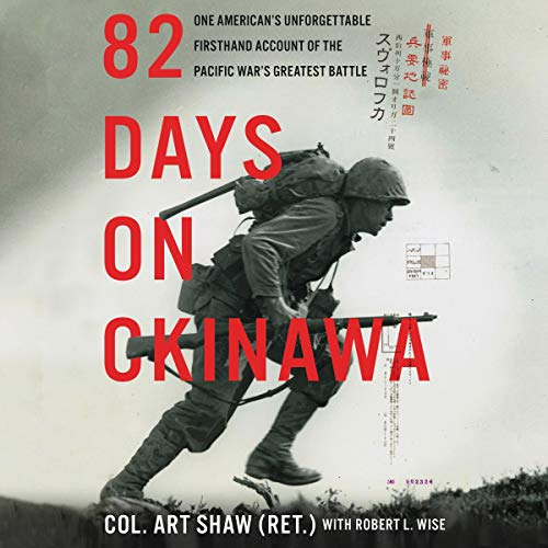 82 Days on Okinawa By Art Shaw, Robert L. Wise