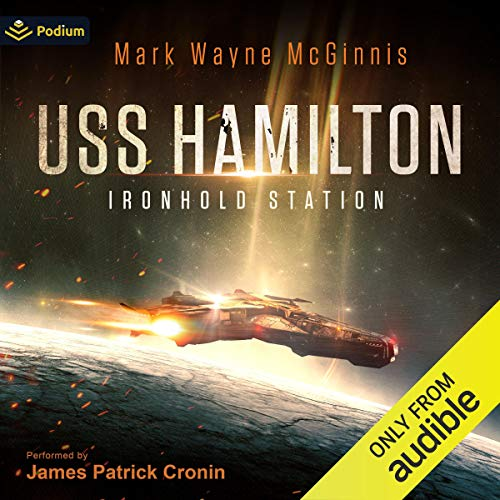 USS Hamilton Ironhold Station By Mark Wayne McGinnis